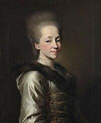La princesse Maria Pavlovna Narychkine
