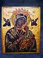 Maria mit Jesuskind, Ikone in der röm.kath.St. Anton Kirche, Basel.jpg