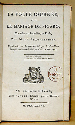 Image illustrative de l'article Le Mariage de Figaro