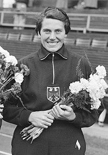 Marianne Werner West German shot putter