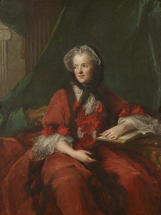 Marie Leszczyńska, reine de France, lisant la Bible by Jean-Marc Nattier, 002