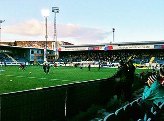 Marienlyst Stadion - Image: Marienlyst stadion