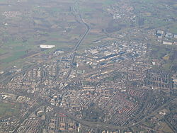 Aerial view of Roosendaal