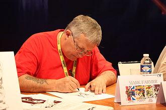 Mark Farmer - Autograph session with Mark Farmer at Japan Expo 2008 in Paris, France.