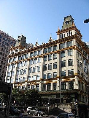 Mark Foy's - The Mark Foy's building