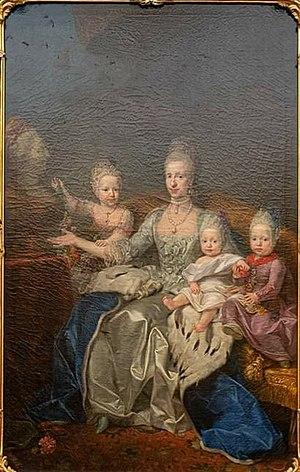 Maron - Grand Duchess Maria Luisa with her children - Schönbrunn.jpg