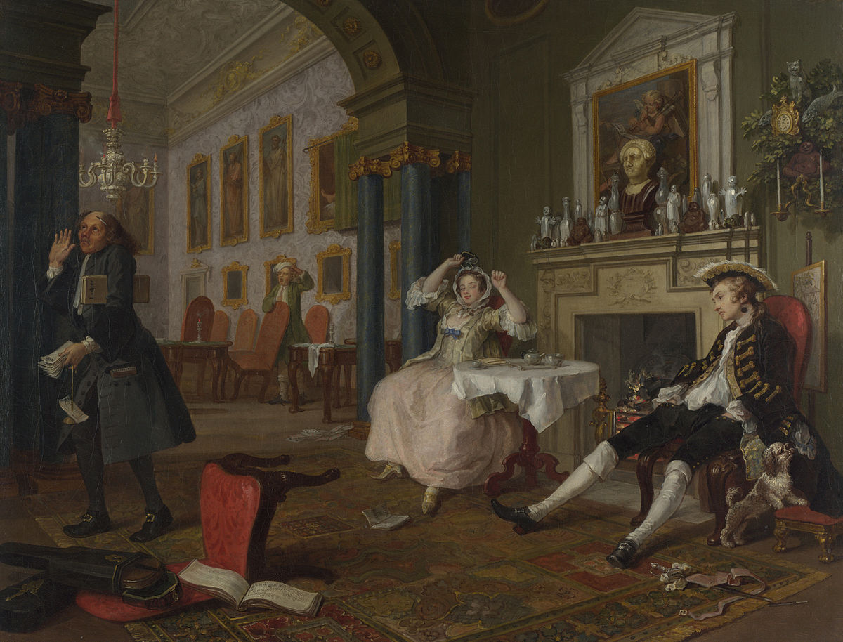 Marriage A-la-Mode 2, The Tete a Tete - William Hogarth.jpg