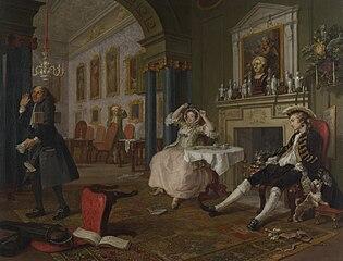 Marriage à-la-mode: 2. The Tête à Tête