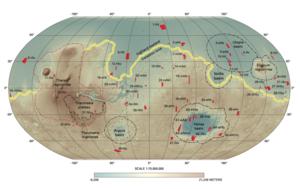 Tectonics of Mars - Image: Mars Dichotomy Figure 1
