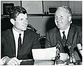 Massachusetts Senator Edward Kennedy and Mayor John F. Collins (10695671005).jpg