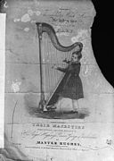 Master Hughes and the harp (print) NLW3363152.jpg