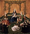 Master of the Life of the Virgin - Virgin and Child with Three Saints - WGA14595.jpg