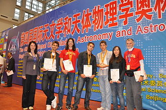 Mathematical Grammar School - International Olympiad on Astronomy and Astrophysics, China, 12–21 September 2010. Serbia was represented by 5 members team, all of whom were students of MGB. They won 4 medals and one honorable mention: 1 gold, 2 silver, 1 bronze, 1 honorable mention.