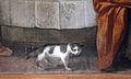 Matteo rosselli, ultima cena, 1613-14, 06 gatto.JPG