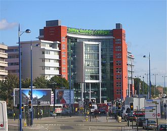 Birmingham city centre - Matthew Boulton College