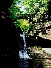 Cascade Falls at Matthiessen State Park