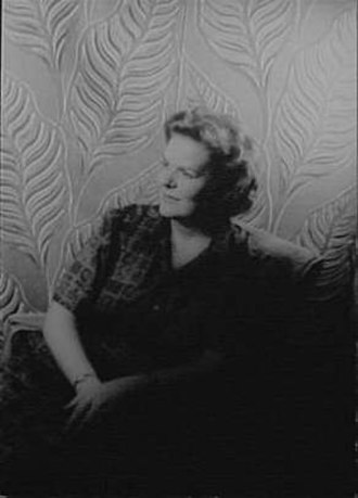 1930 in Canada - Maureen Forrester photo taken by Carl Van Vechten