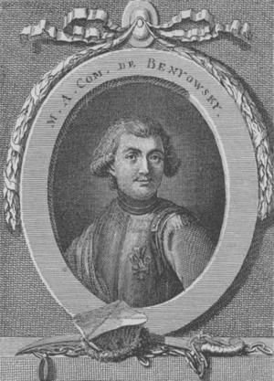 Maurice Benyovszky - Portrait of Benyovszky