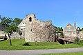 Mautern an der Donau - Kastell Favianis, westlicher Hufeisenturm.JPG