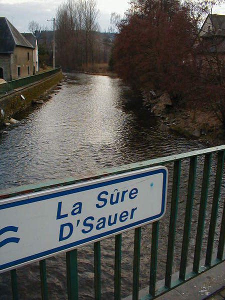 The Sûre river