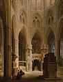 Max Emanuel Ainmiller - Der Chor der Westminster Abbey in London mit dem Grabmal Eduards des Bekenners - WAF 23 - Bavarian State Painting Collections.jpg