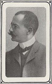 Max Marschalk, 1905. (Quelle: Wikimedia)