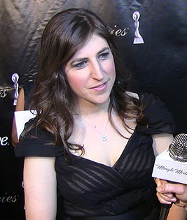 Mayim Bialik at Gracie Awards Gala crop.jpg