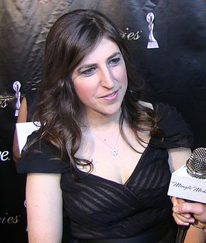 Bialik at the 2011 Gracie Awards