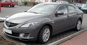 Mazda6 - Mazda6 Saloon (Europe)