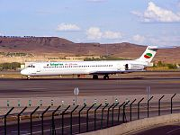 LZ-LDN - MD82 - Bulgarian Air Charter
