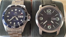 Fil:Mechanical and quartz watches.webm