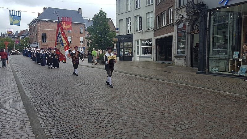 File:Mechelen optocht-Sint-Sebastiaansgilde Kampenhout (1).jpg