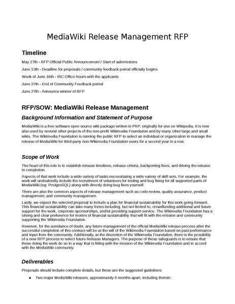 File:MediaWiki Release Request For Proposals 2014.pdf
