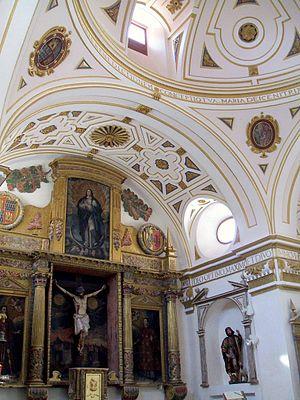 English: Capilla del Santo Cristo de la Colegi...