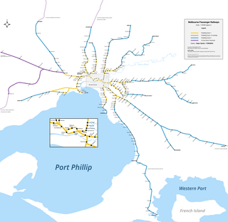 Proposed Melbourne rail extensions