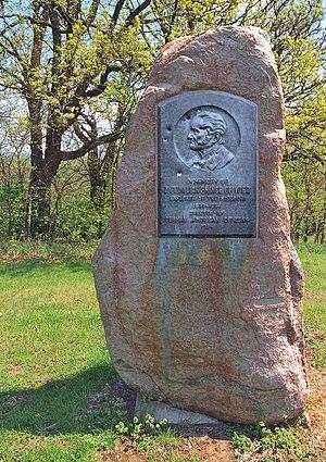 Prince Maximilian of Wied-Neuwied - Image: Memorial to Maximilian Prince of Wied, Mount Vernon Gardens, Omaha
