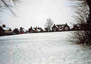 Mentmore - Image: Mentmore village green 1963