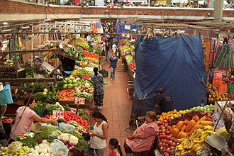 Trade - The San Juan de Dios Market in Guadalajara, Jalisco.