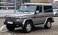 Mercedes-Benz G 270 CDI (W 463) – Frontansicht, 3. März 2013, Ratingen.jpg