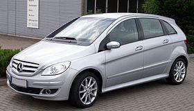 Mercedes Benz B 170 Silver Vl Jpg