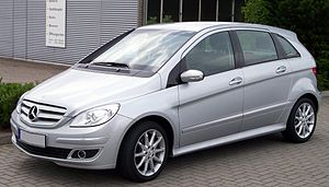 Mercedes-Benz B-Class - Before facelift