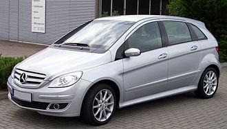 Mercedes-Benz B-Class - Before facelift