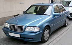 Mercedes W202 po drugim liftingu