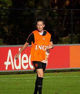 Merel van Dongen Dutch footballer