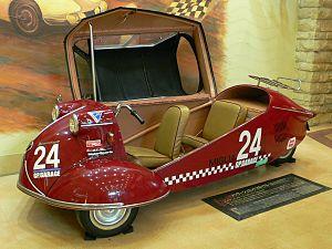 Vehicle canopy - Messerschmitt KR175