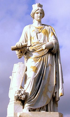 Idylls from Messina - Image: Messina Statua di Messina (G. Prinzi)