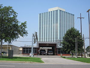 Executive Tower One - Image: Metairie LA Causeway Blvd Fire Station