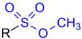 Methylsulfoxylate General Structure.png