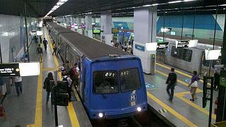 Botafogo Station metro station in Rio de Janeiro, Brazil