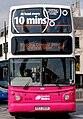 Metro (Belfast) bus 2899 (EEZ 2899) 2005 Volvo B7TL Alexander Dennis ALX400, 15 April 2011.jpg